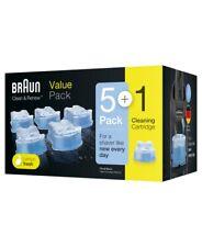 Braun Clean & Recartridge Refill 5 Pack