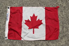 12 x 18 INCH NYL-GLO CANADA CANVAS FLAG USA CLUB YACHT SIGNAL (#425)