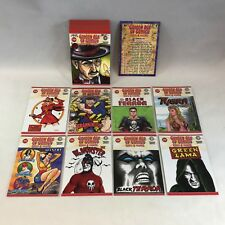 GOLDEN AGE OF COMICS: HEROES & VILLAINS (Breygent) Complete Card Set w/ 8 Promos