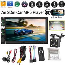 "7"" 2 DIN coche MP5 Stereo MP3 Player USB/TF/Bluetooth pantalla táctil FM Radio"