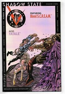 Shadow State #1 Broadway Comics 1995 F+ Chrome cover