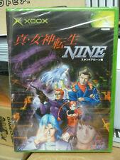 Shin Megami Tensei IX Nine (2002) Brand New Factory Sealed Japan Xbox Import