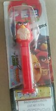 Pez Angry Birds red bird candy dispensers. New in package from Mexico.