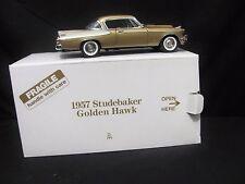 Danbury Mint 1957 Studebaker Golden Hawk Diecast Model Car 1/24 NIB