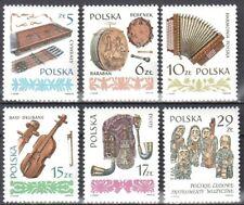 Poland 1984 - Musical Instruments Mi 2899-904 - MNH (**) postfrisch
