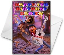 DISNEY'S COCO Personalised Birthday / Christmas / Card - Large A5 - Disney - 2