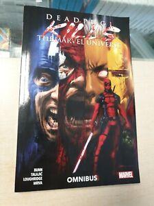 Deadpool Kills The Marvel Universe Omnibus by Cullen Bunn Graphic Novel