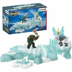 Schleich Eldrador Creatures - Attack on Ice Fortress with Figures