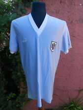 Uruguay Natl Team OBDULIO TRASANTE 1988 match worn shirt
