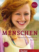 Hueber MENSCHEN A1.1 Deutsch als Fremdsprache KURSBUCH mit Lerner DVD-ROM @New@