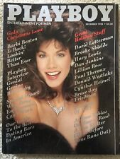 Playboy Magazine December 1985 Barbi Benton