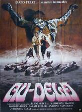 AND YOU WILL LIVE IN TERROR : THE BEYOND - FULCI - ORIGINAL LARGE MOVIE POSTER