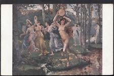 Artist Postcard - Salon de Paris - H.Delacroix - Danse Antique  RS4299