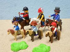 3x Amazona 3x Infantil con Pony Figuras Caballos Z 5221 4190 Reiterhof Playmobil
