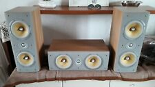 DIFFUSORI B&W LCR600 S3 CASSE HOME THEATRE USATE BOWERS WILKINS