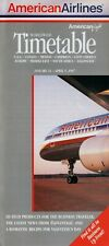 American Airlines Timetable  January 31, 1997 =
