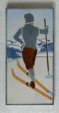 Fliese, Jugendstil, Skiläufer, Somag,