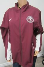 RARE NIKE TEXAS A&M AGGIES TRACK & FIELD  OFFICIALS JACKET ZIP FRONT SIZE LARGE