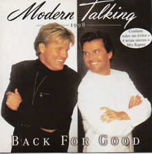 "MODERN TALKING ""BACK FOR GOOD"" ULTRA RARE SPANISH CD WITH 4 BONUS TRACKS +MEDLEY"