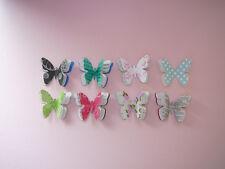 Scrapbooking, Card & Craft Making Embelishment- Mixed Coloured Butterflies