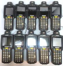 Lot of (10) Motorola Symbol MC3090R-LC38S00GER Laser Wireless Barcode Scanners