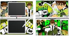 nintendo NDSi DSi - BEN 10 - 4 Piece - Decal / Sticker Skin UK