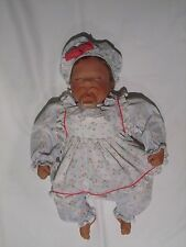 """First Born (Sleeping) """"Berry Sweet"""" 20"""" Signed Lee Middleton 1997 Doll w/COA"""
