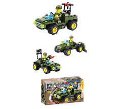 Chariot Jeep - Building Block Brick Set 6210 59+pc