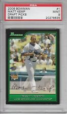 2006 Bowman Draft Picks Matt Kemp #1 (Rookie) PSA 9