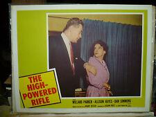 THE HIGH-POWERED RIFLE, orig 1960 LC #3 (Willard Parker, Allison Hayes)