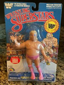 Adorable Adrian Adonis Sealed LJN Wrestling Superstars WWF Figure 1985 MOC doll