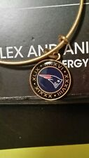NWT Alex and Ani NFL On The 50 New England Patriots Bangle RARE  Pats SUPERBOWL