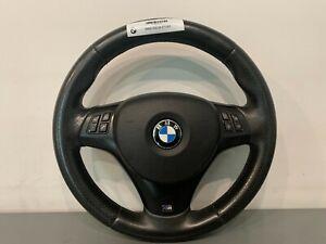 BMW 3 SERIES E90 E91 E92 E93 M SPORT LEATHER STEERING WHEEL 9123289 #