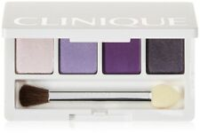 Clinique Eye Shadow quad in Graphite, Purple Pumps, Lavender Out Loud, Angel Eye