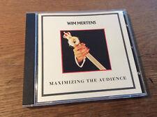 Wim Mertens - Maximising the Audience [ CD Album ] 1988