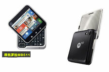 Original Motorola Flipout MB511 MB-511 3G Android Smartphone QWERTY Free ship