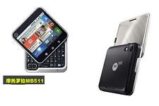 Original Motorola Flipout MB511 MB-511 3G Android Smartphone QWERTY Free ship