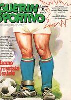 RIVISTA=GUERIN SPORTIVO=N°13 1980=FILM COPPE EUROPEE=RIVISTA COME NUOVA