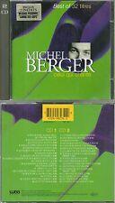 MICHEL BERGER : Le meilleur de MICHEL BERGER / BEST OF ( 2 CD )