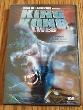 King Kong Lives DVD  (Dino De Laurentis 1986 sequel, Authentic U.S release)