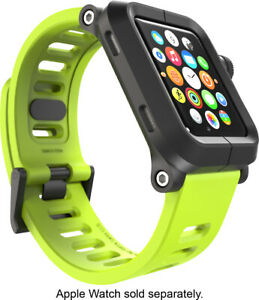 LUNATIK EPIK Polycarbonate Case and Silicone Band for Apple Watch 42mm - Green