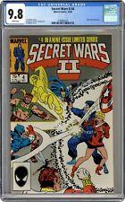 Secret Wars II #4 CGC 9.8 1985 3790883015