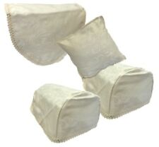Jaquard Embroidered Armchair Caps Protector Chair Back Arm & Cushion Cover
