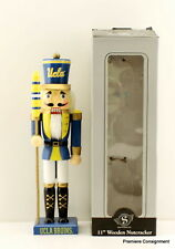 "UCLA Bruins 11"" Tall Nutcracker in Original Box"