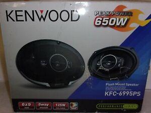 "KENWOOD KFC-6995PS 6x9"" 5-WAY 4-OHM 650W MAX FLUSH MOUNT SPEAKER NEW"