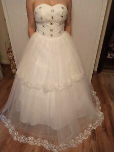 Brautkleid - wunderschöne Prinzessin Gr. 38