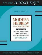 Modern Hebrew for Beginners: A Multimedia Program for Students at the Beginning and Intermediate Levels by Esther Raizen (Paperback, 2016)
