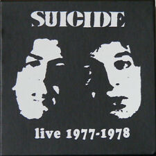 6 CD Box Set SUICIDE Live 1977 -1978       NEW / MINT   MARTIN REV     ALAN VEGA