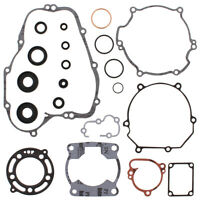 New Gasket Kit With Oil Seals for Kawasaki KX100 18