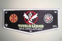OA TUTELO 161 BLUE RIDGE MNTNS COUNCIL PATCH RED GHOSTBUSTERS 2015 CONCLAVE FLAP